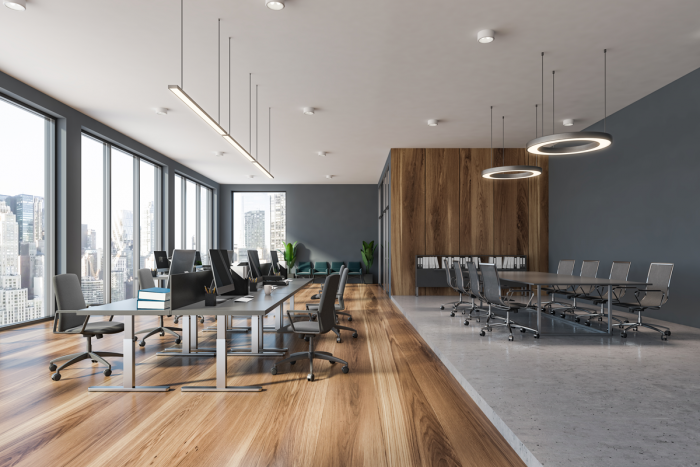 OFFICE AUTOMATION AND LIGHTING DESIGN PLANS